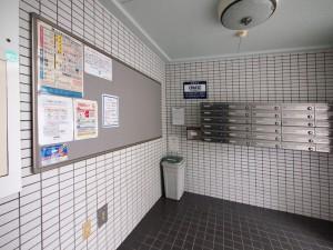 メゾンノーブル 名古屋市_リノベーション 集合ポスト