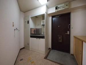 メゾンノーブル 名古屋市_リノベーション キッチンBefore